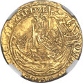 Great Britain: Edward III (1327-77) gold Half Noble ND