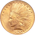 Indian Eagles, 1920-S $10 MS60 NGC....