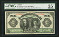 Canadian Currency: , DC-18 $1 1911. ...