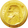 Commemorative Gold: , 1903 G$1 Louisiana Purchase/Jefferson MS64 NGC. The price increasethat this issue undergoes as one moves into the MS65 gra...