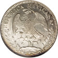 Mexico, Mexico: Republic Cap and Rays 8 Reales 1863 Ce-ML,...