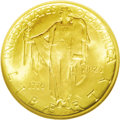 Commemorative Gold: , 1926 $2 1/2 Sesquicentennial MS65 NGC. A frosty Gem with richorange-gold color and hints of olive toning at the borders. B...