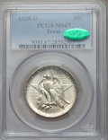 Commemorative Silver: , 1938-D 50C Texas MS67 PCGS. CAC. PCGS Population (78/1). NGCCensus: (91/3). Mintage: 3,775. Numismedia Wsl. Price for prob...
