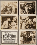 """Movie Posters:War, Behind the Door (Paramount-Artcraft, 1919). Title Lobby Card &Lobby Cards (5) (8"""" X 10""""). War.. ... (Total: 6 Items)"""