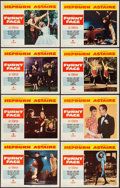 "Movie Posters:Romance, Funny Face (Paramount, 1957). Lobby Card Set of 8 (11"" X 14"").Romance.. ... (Total: 8 Items)"