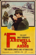 """Movie Posters:War, A Farewell to Arms (20th Century Fox, 1958). Poster (40"""" X 60"""")Style Z. War.. ..."""