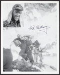 Autographs:Others, Ed Hillary Signed Photograph (First to Climb Mt. Everest!)....