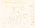 Animation Art:Production Drawing, The Jackson 5ive Production Layout Drawing Animation Art(Rankin-Bass, c. 1971)....