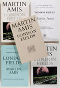Books:Literature 1900-up, Martin Amis. SIGNED. Five editions of London Fields.Toronto: Lester and Orpen Dennys, 1989. Includes the first Cana...(Total: 5 Items)