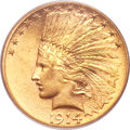 Indian Eagles, 1914-S $10 MS63 PCGS. CAC....