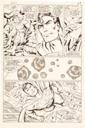 Original Comic Art:Panel Pages, John Byrne and Dick Giordano Man of Steel #5 Page 21Original Art (DC, 1986). ...