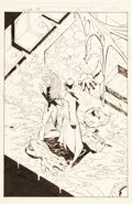 Original Comic Art:Splash Pages, Tony Daniel The Tenth Black Embrace #1 Splash Page 22Original Art (Image, 1999)....