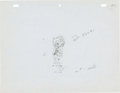 Animation Art:Production Drawing, Judge For a Day Betty Boop Production Drawing Animation Art(Max Fleischer, 1935)....