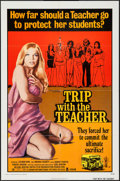 "Movie Posters:Sexploitation, Trip with the Teacher (Crown International, 1974). One Sheet (27"" X41"") & Lobby Card Set of 8 (11"" X 14""). Sexploitation.. ...(Total: 9 Items)"