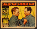 "Movie Posters:Crime, Each Dawn I Die (Warner Brothers, 1939). Lobby Card (11"" X 14""). Crime.. ..."