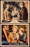 """Movie Posters:Romance, It's a Wise Child & Other Lot (MGM, 1931). Lobby Cards (2) (11"""" X 14""""). Romance.. ... (Total: 2 Items)"""