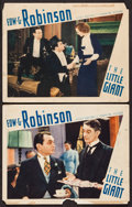 "Movie Posters:Crime, The Little Giant (First National, 1933). Lobby Cards (2) (11"" X14""). Crime.. ... (Total: 2 Items)"
