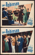 "Movie Posters:Crime, The Little Giant (First National, 1933). Lobby Cards (2) (11"" X 14""). Crime.. ... (Total: 2 Items)"