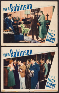 """The Little Giant (First National, 1933). Lobby Cards (2) (11"""" X 14""""). Crime. ... (Total: 2 Items)"""