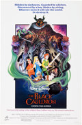 Memorabilia:Poster, The Black Cauldron Advance Theatrical Poster (Buena Vista,1985)....