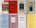Books:Literature 1900-up, Richard Russo, Julian Barnes, Carolyn Chute, John Updike andothers. SIGNED. Group of Eight Modern First Editions orUncorrect... (Total: 8 Items)