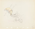 Animation Art:Production Drawing, Mickey's Rival Mickey Mouse Production Drawing Animation Art(Walt Disney, 1936)....