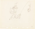 Animation Art:Production Drawing, Mother Goose Goes Hollywood Stan Laurel Production DrawingAnimation Art (Walt Disney, 1938)....