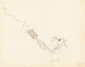 Animation Art:Production Drawing, Camping Out Clarabelle Production Drawing Animation Art(Walt Disney, 1934)....