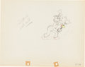 Animation Art:Production Drawing, Mickey's Service Station Goofy Production Drawing AnimationArt (Walt Disney, 1935)....