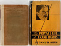 Books:Biography & Memoir, [Henry Miller]. INSCRIBED. Group of Two Books Relating to FrankHarris. Includes The Private Life of Frank Harris by Sam...(Total: 2 Items)