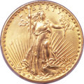 Saint-Gaudens Double Eagles, 1930-S $20 -- Filed Rims -- PCGS Genuine. Unc Details....