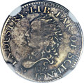 1792 H10C Half Disme, Judd-7, Pollock-7, R.4 -- Repaired -- NGC. XF Details....(PCGS# 11020)