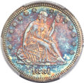 Proof Seated Quarters, 1881 25C PR66 PCGS....