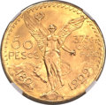 Mexico, Mexico: Republic gold 50 Pesos 1929,...