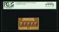 Fractional Currency:First Issue, Fr. 1282SP 25¢ First Issue Narrow Margin Face PCGS Choice New 63PPQ.. ...