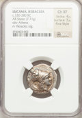 Ancients:Greek, Ancients: LUCANIA. Heracleia. Ca. 330-325 BC. AR stater (22mm, 7.71gm, 8h)....