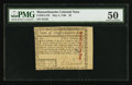 Colonial Notes:Massachusetts, Uncancelled Massachusetts May 5, 1780 $2 PMG About Uncirculated 50.. ...