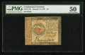 Colonial Notes:Continental Congress Issues, Continental Currency January 14, 1779 $4 PCGS About New 50.. ...