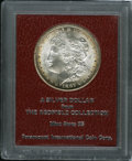 Additional Certified Coins: , 1887-S $1 Morgan Dollar MS65 Paramount International (MS62). Ex:Redfield. Thin bands of oran...