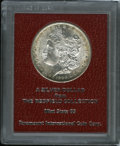 Additional Certified Coins: , 1890-S $1 Morgan Dollar MS65 Paramount International (MS61). Ex:Redfield. Golden-brown and f...