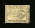Colonial Notes:Continental Congress Issues, Continental Currency November 2, 1776 $4 Extremely Fine.Technically there is only one main fold plus a little extrahandlin...