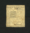 Colonial Notes:Delaware, Delaware May 1, 1777 20s Very Fine-Extremely Fine. A very pleasingexample of this much scarcer 1777 issue which is crisp an...