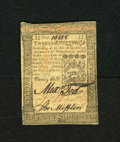 Colonial Notes:Pennsylvania, Pennsylvania October 1, 1773 20s Choice About New. Three boldsignatures and serial number are found on this colonial note w...