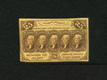 Fractional Currency:First Issue, Fr. 1281 25c First Issue Choice New. Bold and original embossing is clearly evident on this first issue type note which exhi...