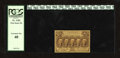 Fractional Currency:First Issue, Fr. 1282 25c First Issue PCGS Extremely Fine 40.This straight edge no monogram variety is about 30 times scarcer than its mo...