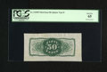 Fractional Currency:Third Issue, Fr. 1339SP 50¢ Third Issue Wide Margin Type II Spinner Back PCGSGem New 65. Milton 3P50R.3. From our sale of the Milt Fried...