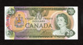 Canadian Currency: , BC-54a $20 1979.. This nicely preserved $20 has retained itsembossing. Choice Crisp Uncirculated....