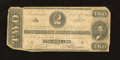 Confederate Notes:1862 Issues, T54 $2 1862. Furling of the edges is noticed. Good-Very Good....