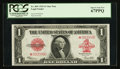 Large Size:Legal Tender Notes, Fr. 40* $1 1923 Legal Tender PCGS Superb Gem New 67PPQ.. ...