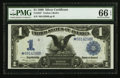 Large Size:Silver Certificates, Fr. 233* $1 1899 Silver Certificate PMG Gem Uncirculated 66 EPQ.....